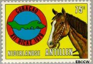 Nederlandse Antillen NA 619  1979 Vergadering P.A.H.O. 75 cent  Gestempeld