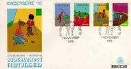 Nederlandse Antillen NA E116  1978 Kind en vrije tijd  cent  FDC zonder adres