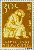 Nieuw-Guinea NG 62  1960 Vluchtelingenjaar 30 cent  Gestempeld