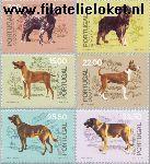 POR 1522#1527 Postfris 1981 Honden