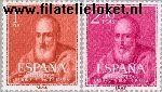 SPA 1187#1188 Postfris 1960 Heiligverklaring Juan de Ribera