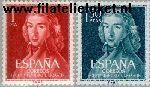 SPA 1223#1224 Postfris 1961 Moratin, Leandra