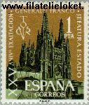 SPA 1268# Postfris 1961 Burgos- Kathedraal