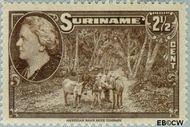 Suriname SU 223  1945 Wilhelmina en landschappen 2½ cent  Gestempeld