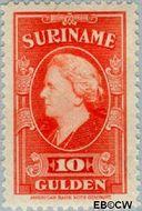 Suriname SU 243  1945 Koningin Wilhelmina 1000 cent  Gestempeld