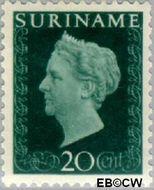 Suriname SU 264  1948 Koningin Wilhelmina 20 cent  Gestempeld