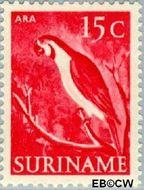 Suriname SU 304  1953 Inheemse voorstellingen 15 cent  Gestempeld
