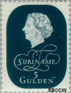 Suriname SU 334  1959 Koningin Juliana 500 cent  Gestempeld