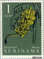 Suriname SU 354  1961 Inheemse vruchten 1 cent  Gestempeld