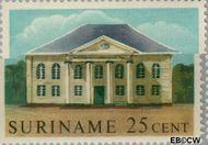 Suriname SU 364  1961 Historische gebouwen 25 cent  Gestempeld