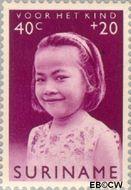 Suriname SU 402  1963 Surinaamse kinderen 40+20 cent  Gestempeld
