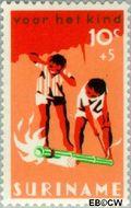 Suriname SU 462  1966 Feesten 10+5 cent  Gestempeld