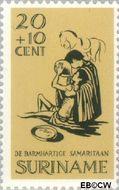 Suriname SU 472  1967 Barmhartige Samaritaan 20+10 cent  Gestempeld