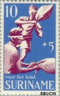 Suriname SU 522  1969 Kinderspelen 10+5 cent  Gestempeld