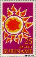 Suriname SU 532  1970 Symbolen 25+12 cent  Gestempeld