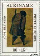 Suriname SU 572  1971 Kinderspelen 30+15 cent  Gestempeld