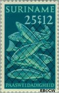 Suriname SU 582  1972 Paassymbolen 25+12 cent  Gestempeld