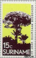 Suriname SU 592  1972 Dienst Landbouwbeheer 15 cent  Gestempeld
