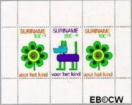 Suriname SU 612  1973 Kinderwereld  cent  Gestempeld