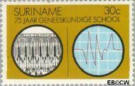 Suriname SU 622  1974 Geneeskundige School 30 cent  Gestempeld