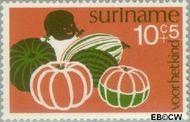 Suriname SU 632  1974 Diverse voorstellingen 10+5 cent  Gestempeld