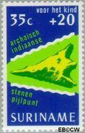 Suriname SU 652  1975 Cultuur 35+20 cent  Gestempeld