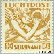 Suriname SU LP19  1941 Mercurius 1000 cent  Gestempeld