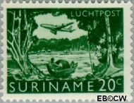 Suriname SU LP37  1965 Landschappen 20 cent  Gestempeld