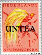 West-Nieuw-Guinea NG WNG1  1962 UNTEA opdruk 1 cent  Gestempeld