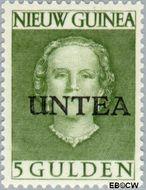 West-Nieuw-Guinea NG WNG11  1962 UNTEA opdruk 500 cent  Gestempeld