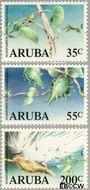 Aruba AR 57#59  1989 Maripampun  cent  Postfris