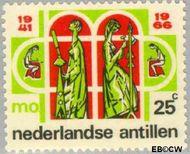 Nederlandse Antillen NA 375  1966 Middelbaar Onderwijs 25 cent  Gestempeld