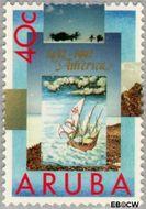 Aruba AR 111  1992 Ontdekking Amerika 40 cent  Gestempeld