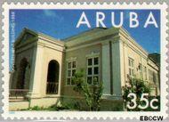 Aruba AR 151  1995 Gebouwen 35 cent  Gestempeld