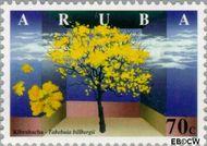 Aruba AR 202  1997 Bomen 70 cent  Gestempeld