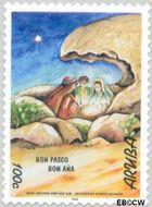 Aruba AR 242  1999 Bijbelse voorstellingen 100 cent  Gestempeld