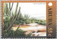 Aruba AR 252  2000 Landschappen 55 cent  Gestempeld