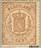 Nederland NL 13  1871 Rijkswapen ½ cent  Gestempeld