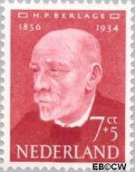 Nederland NL 643  1954 Bekende personen 7+5 cent  Gestempeld