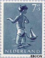 Nederland NL 651  1954 Opvoeding en leren 7+5 cent  Gestempeld