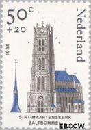 Nederland NL 1324  1985 Kerken 50+20 cent  Gestempeld