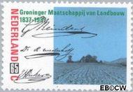Nederland NL 1379  1987 Groninger Maatschappij van Landbouw 65 cent  Gestempeld