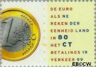 Nederland NL 1809  1999 De Euro 80 cent  Gestempeld