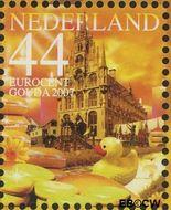 Nederland NL 2491a#  2007 Mooi Nederland- Gouda  cent  Gestempeld