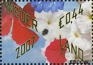 Nederland NL 2503  2007 Bloemetje cadeau 44 cent  Gestempeld