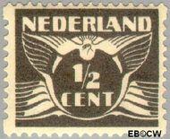 Nederland NL R57  1930 Type 'Lebeau' ½ cent  Gestempeld