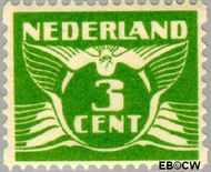 Nederland NL R62  1930 Type 'Veth' 3 cent  Gestempeld