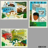 Aruba AR 131#133  1993 Symboliek  cent  Gestempeld