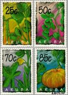 Aruba AR 160#163  1995 Arubaanse vruchten  cent  Gestempeld