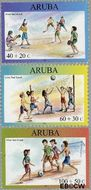 Aruba AR 310#312  2003 Kinderzegels  cent  Gestempeld
